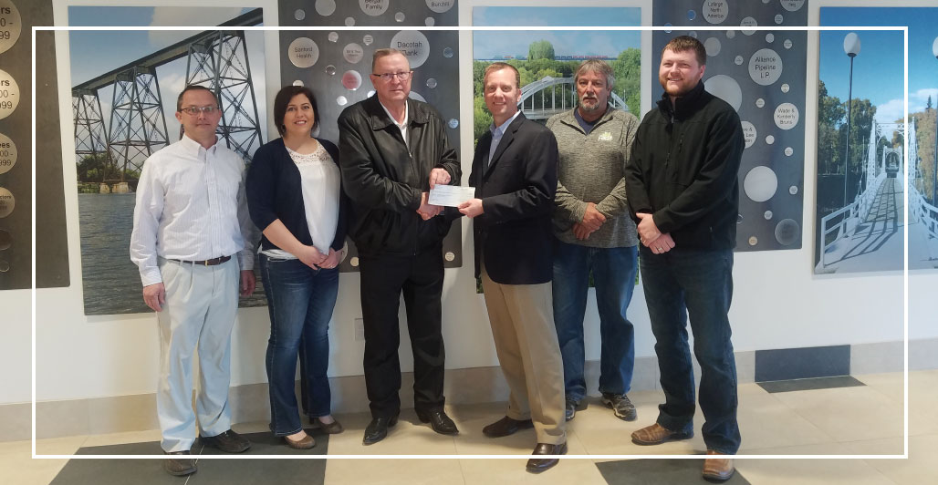 KLJ Donates $50,000 to Gaukler Family Wellness in Valley City