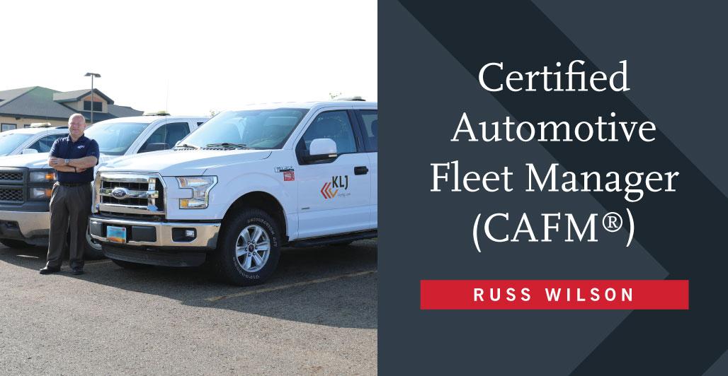 Wilson Earns Esteemed Fleet Industry Certification
