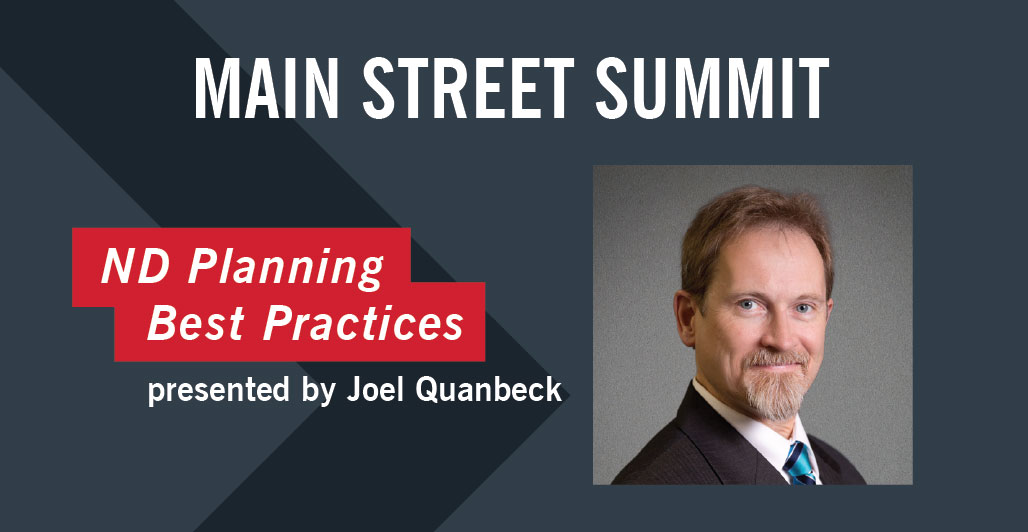 Quanbeck to speak at Main Street Summit