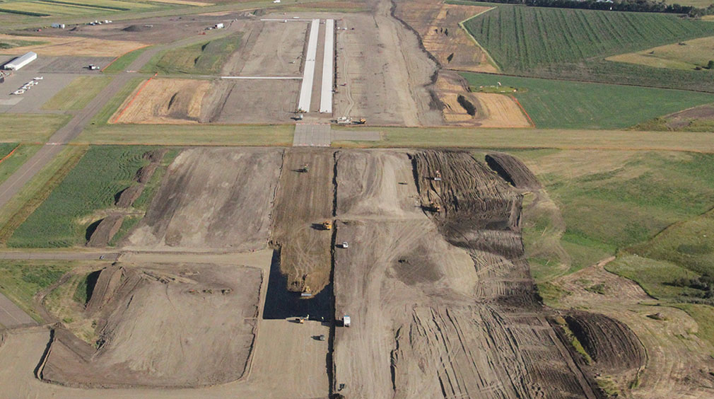 Mandan Airport Reconstruction
