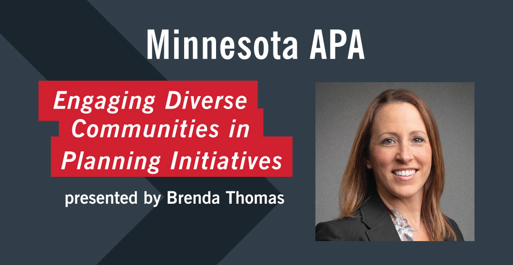 Thomas Presents at American Planning Association Conference in Minnesota